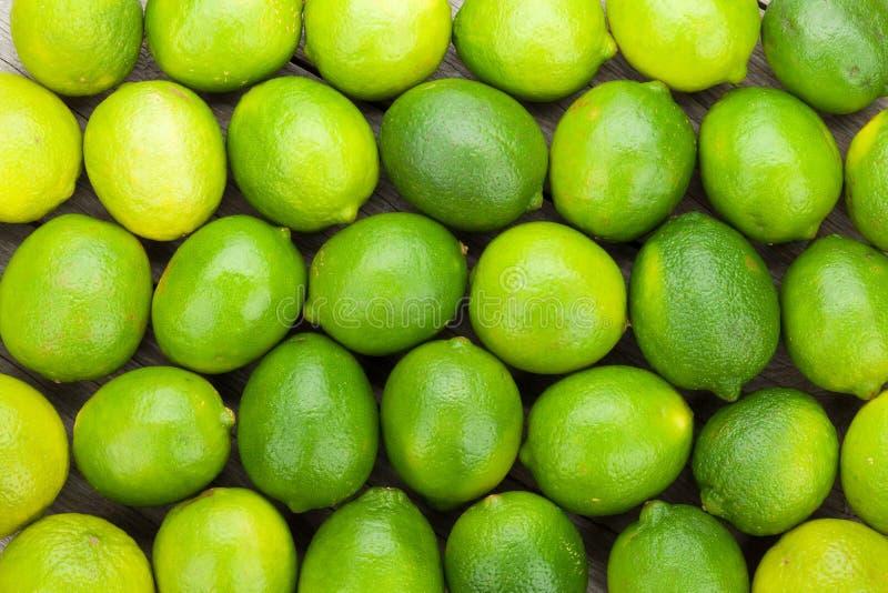 Fresh ripe limes stock photography