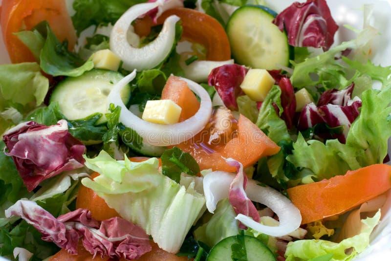 Fresh salad mix royalty free stock images