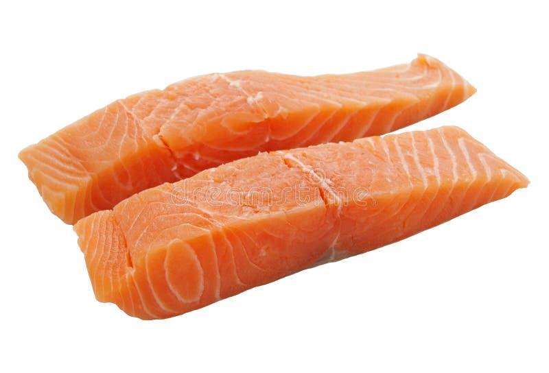 Fresh salmon royalty free stock images
