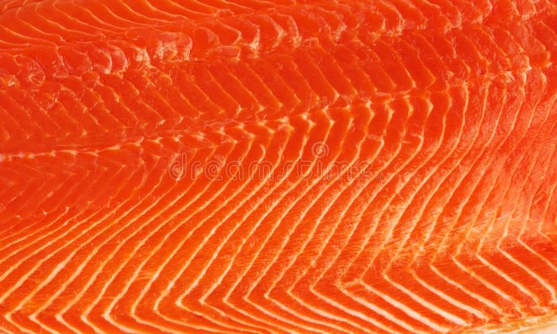 Fresh salmon fillet. Background or texture royalty free stock image