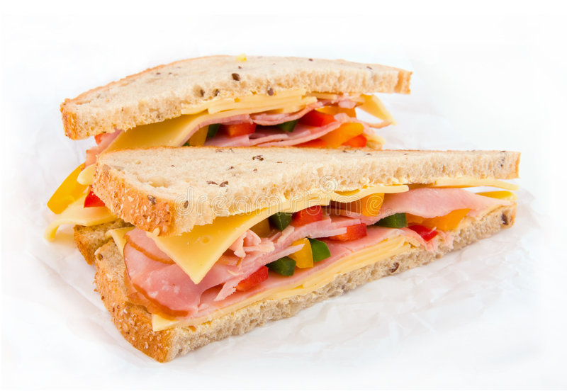 Fresh Sandwitch royalty free stock photos