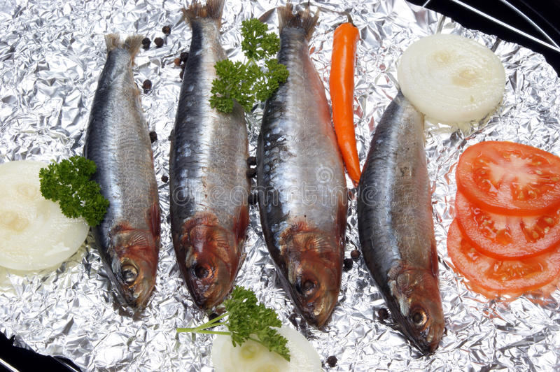 Download Fresh Sardines Before Cooking As Food Stock Image - Image: 19759013