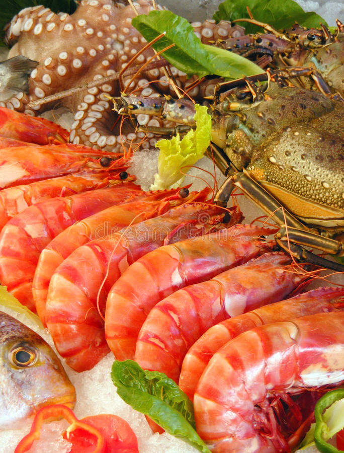 Free Fresh Seafood Royalty Free Stock Photo - 16622825