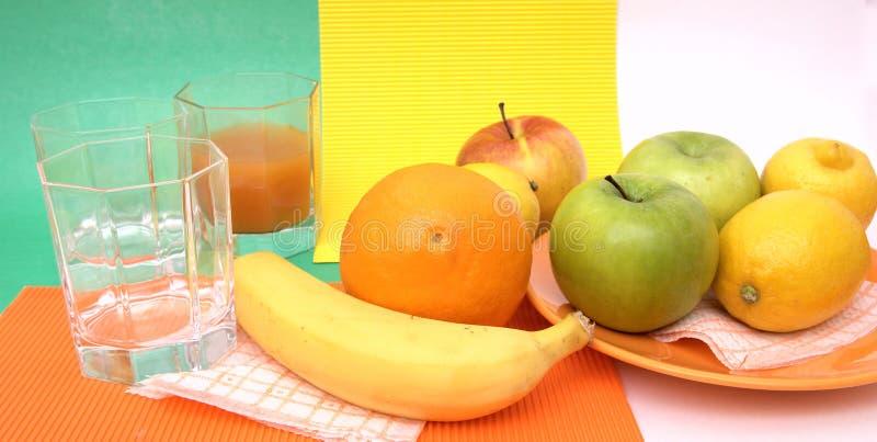 Fresh seasonal fruit royalty free stock photo