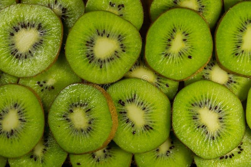 Fresh slices of kiwi fruit for background. Fresh slices of the kiwi fruit for background royalty free stock images