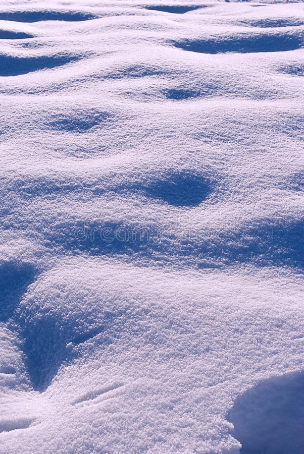 Fresh snow royalty free stock images