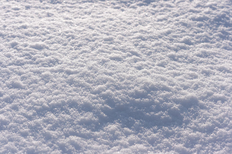 Fresh Snow. Sprawling Fresh Snow Background Frame royalty free stock image
