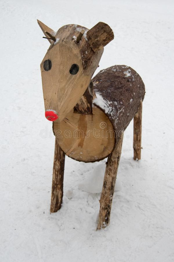 Fresh snow on spruce branch, Bila, Czech Rebublic. Europe royalty free stock photo