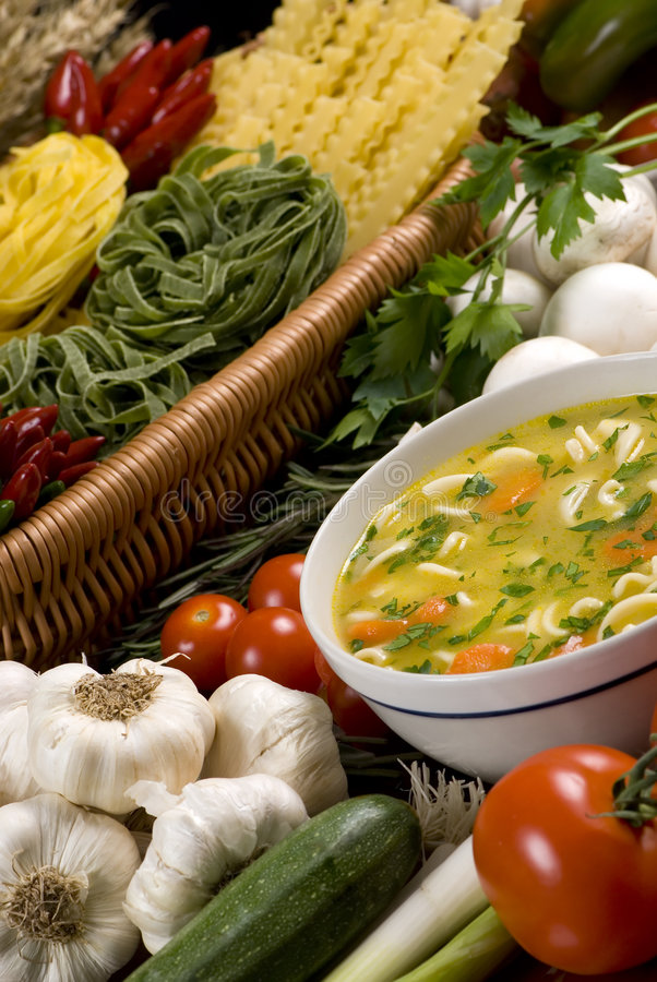 Free Fresh Soup 2 Stock Images - 1494684