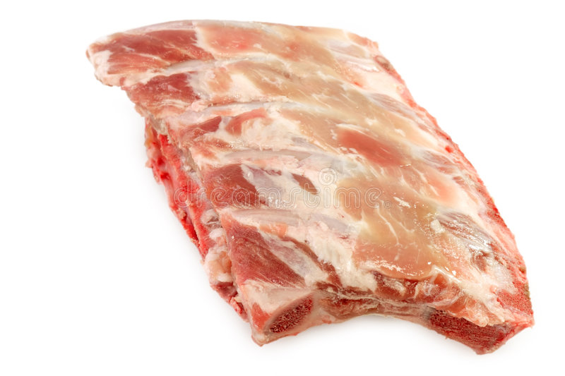 Fresh Spare Ribs stock image