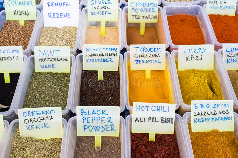 Fresh Spices & Herbs stock photos