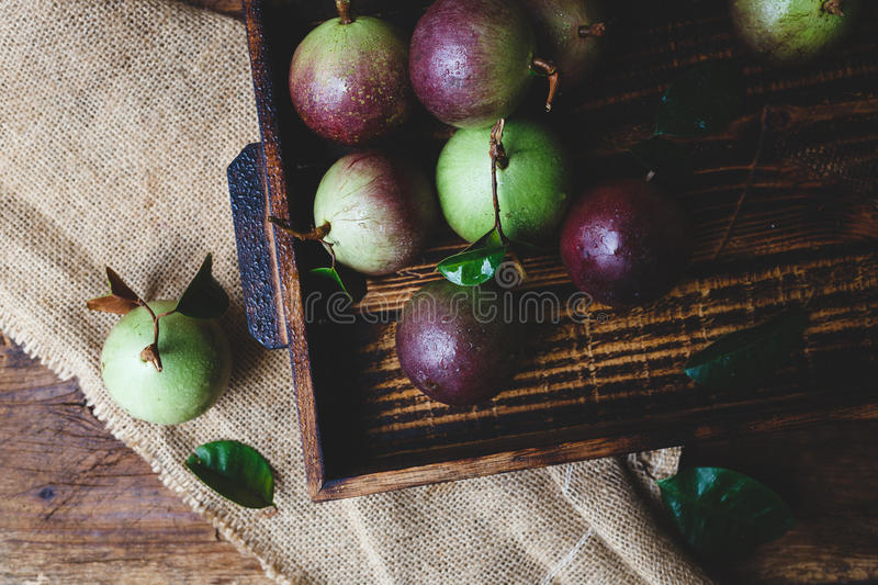 Download Fresh Starapples Stock Photo - Image: 83700710