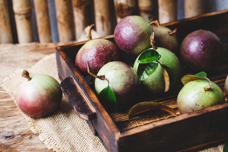 Download Fresh Starapples stock image. Image of whole, cutting - 83701055