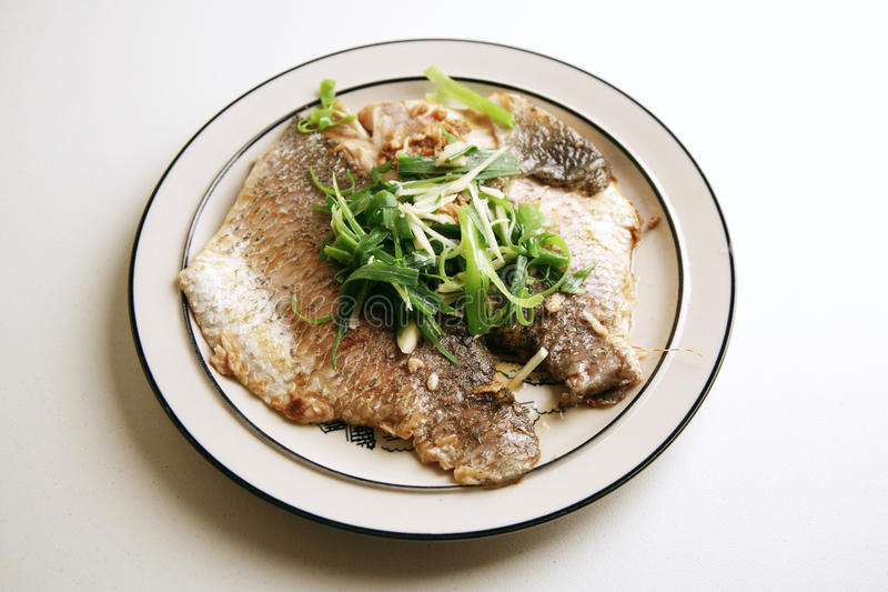 Fresh steamed fish