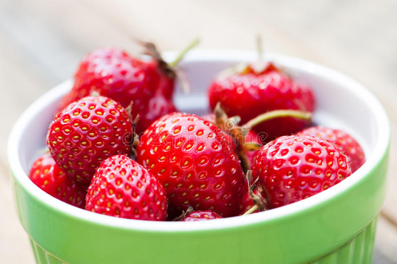 Download Fresh strawberries stock photo. Image of fruit, copy - 32238508
