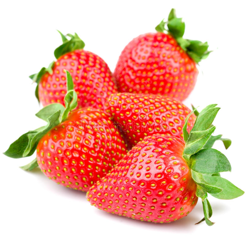 Download Fresh strawberry stock image. Image of macro, dessert - 24391629