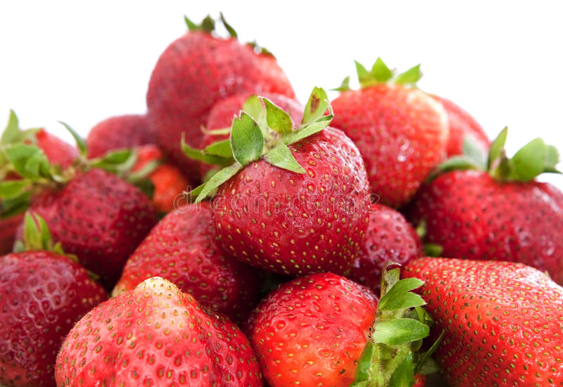Download Fresh strawberry stock image. Image of berry, white, strawberry - 26196545