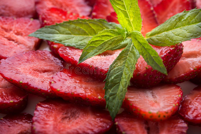 Fresh strawberry fruits royalty free stock images