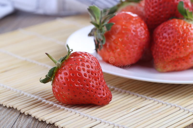 Fresh strawberry. Fruits for some background stock image