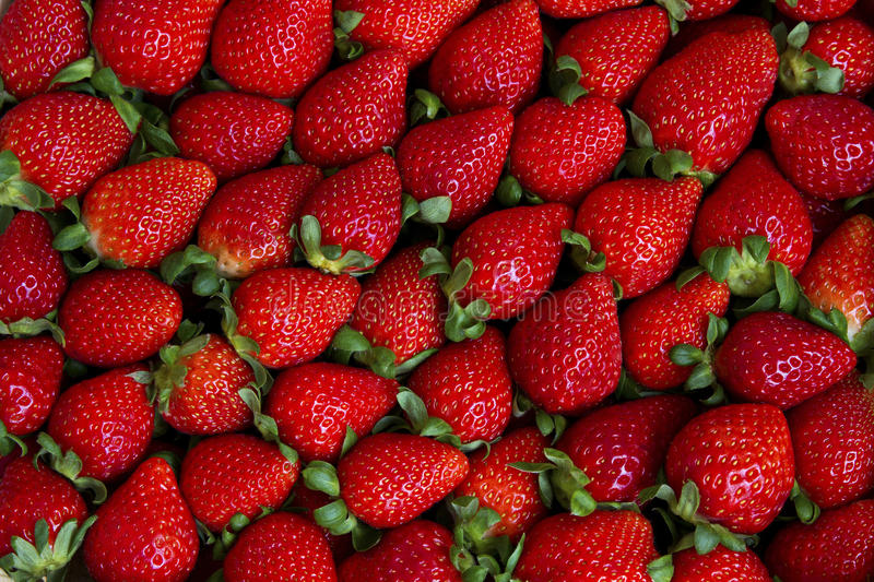 Fresh strawberry texture, abstract background. stock photo