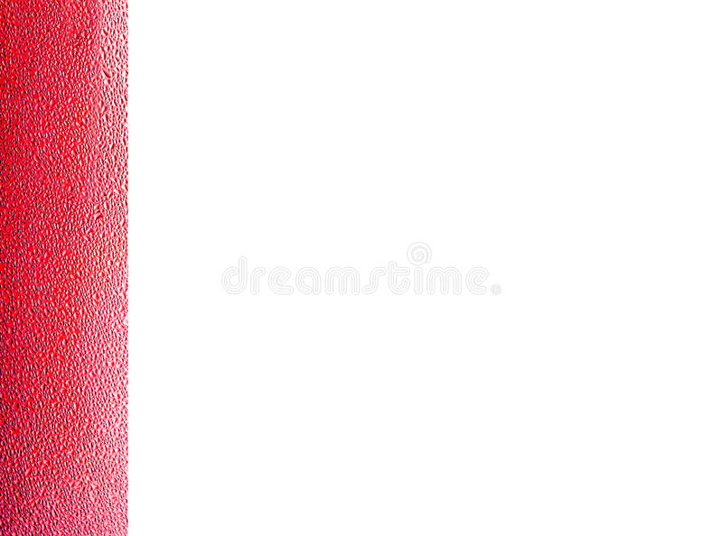 Fresh strawbery color water spot tab and space isolated. Background stock images