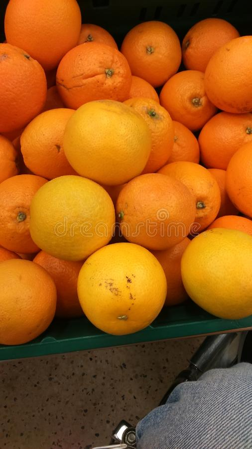 Fresh succulent oranges royalty free stock images