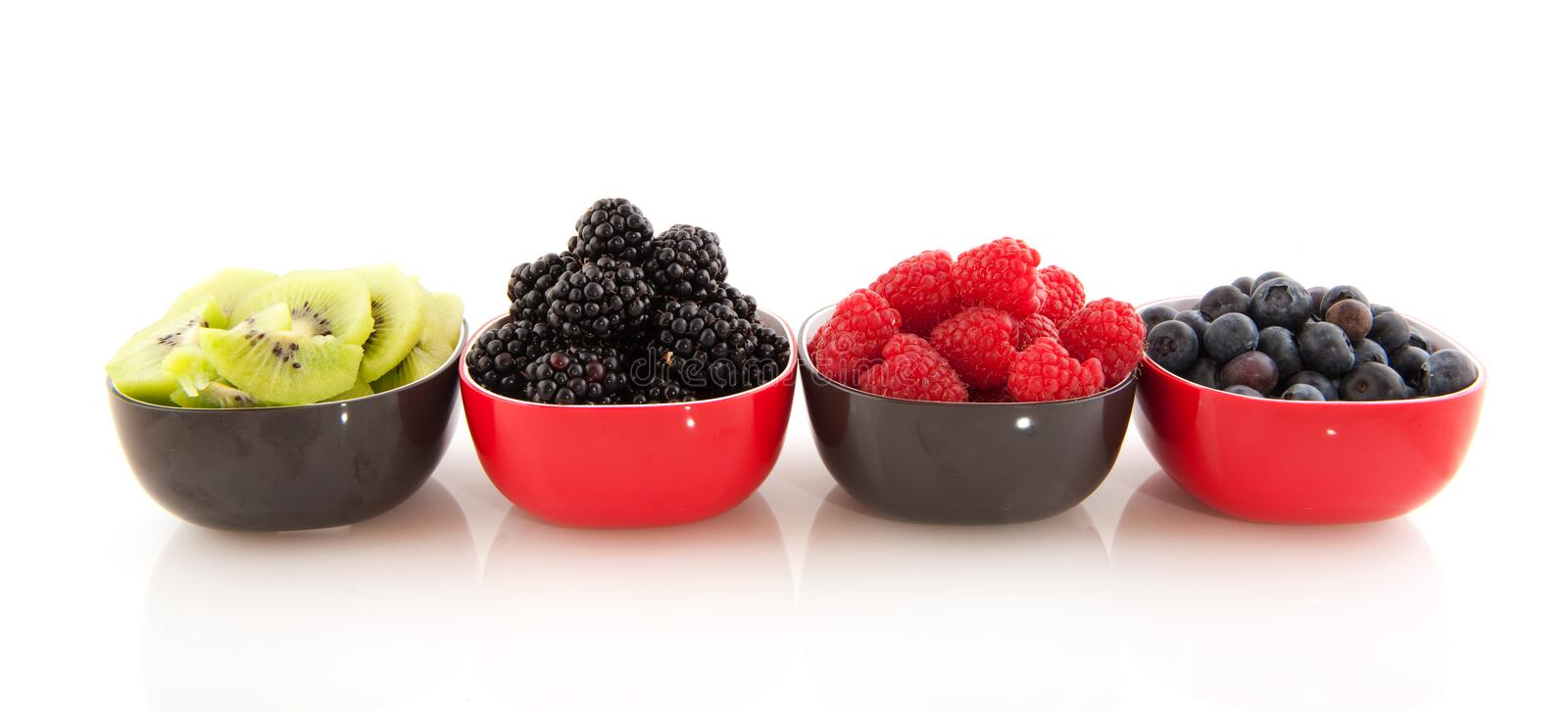 Download Fresh summer fruit stock photo. Image of black, white - 14448322