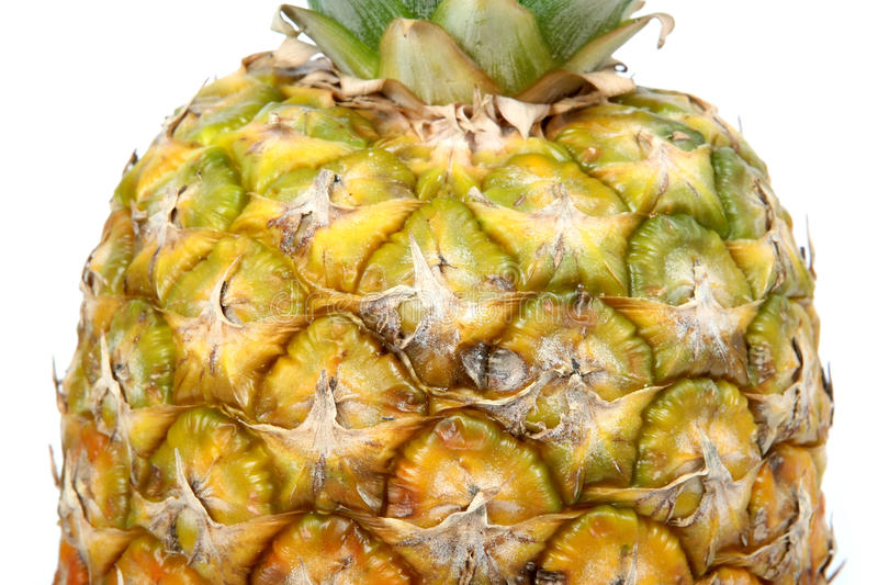 Fresh summer fruit, healthy pineapple texture royalty free stock image