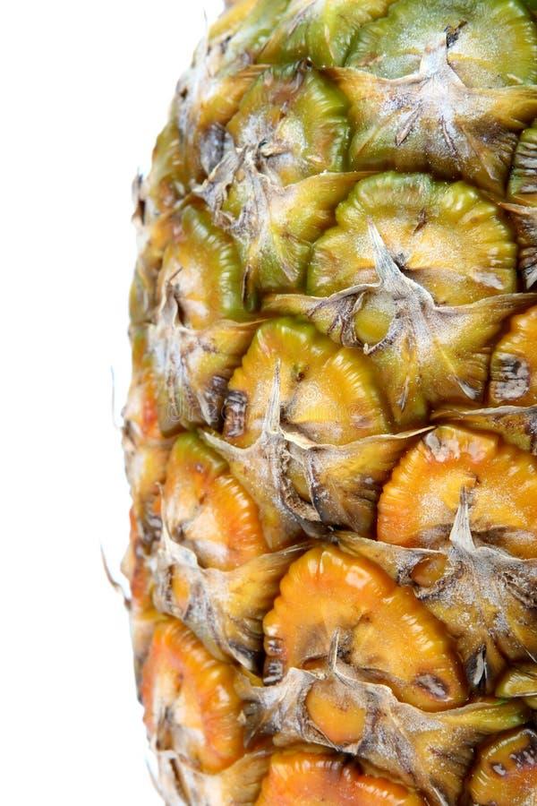 Fresh summer fruit, healthy pineapple texture stock image