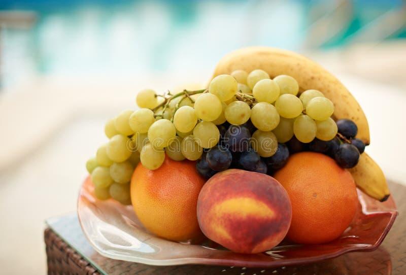 Fresh summer fruits royalty free stock image