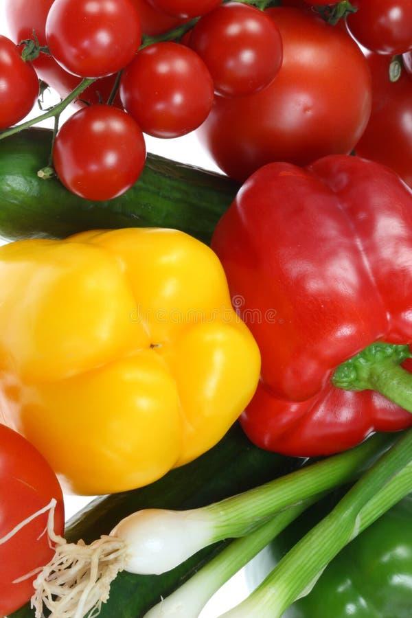 Fresh summer vegetables. royalty free stock photos