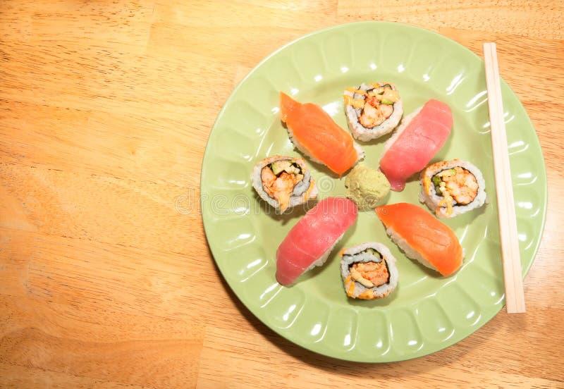 Download Fresh Sushi and Sashimi stock image. Image of crawfish - 23586821