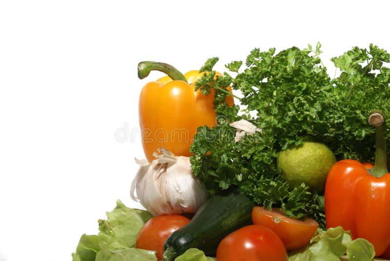 Fresh tasty vegetables stock images