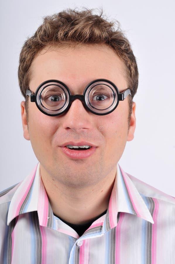 Download Fresh thinking, nerd, geek stock photo. Image of head - 7880898