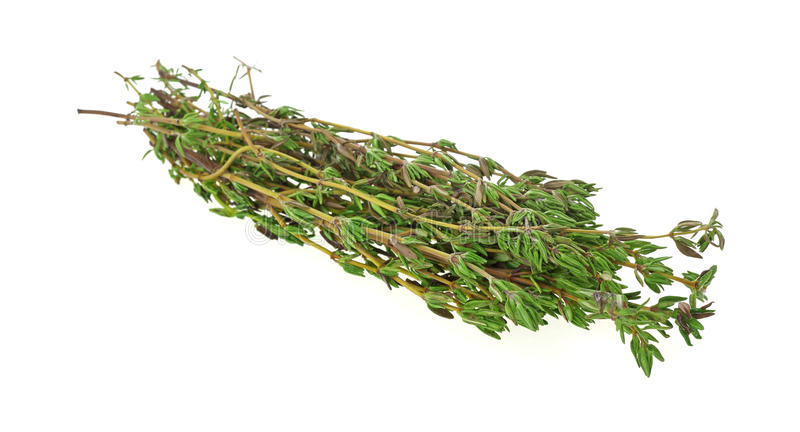 Download Fresh Thyme Herbs At An Angle Royalty Free Stock Photo - Image: 21218755