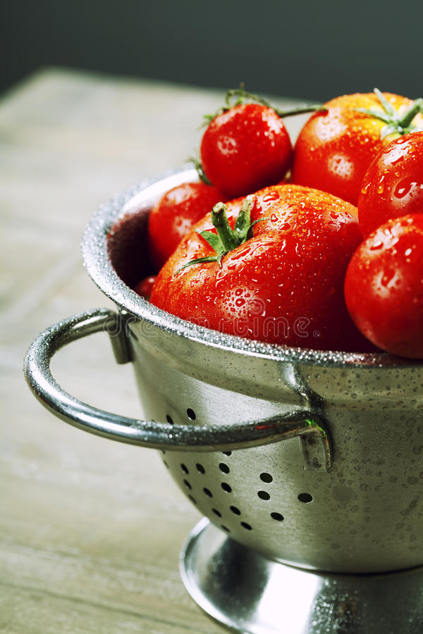 Download Fresh tomatoes stock photo. Image of homemade, herbs - 26481440