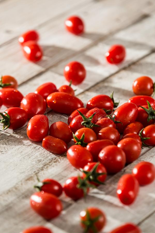 Fresh tomatoes. red tomatoes background. Group of tomatoes. Slice tomato royalty free stock images