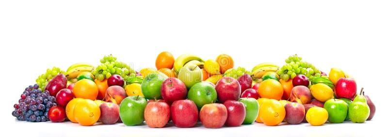 Fresh tropical fruits. stock photo