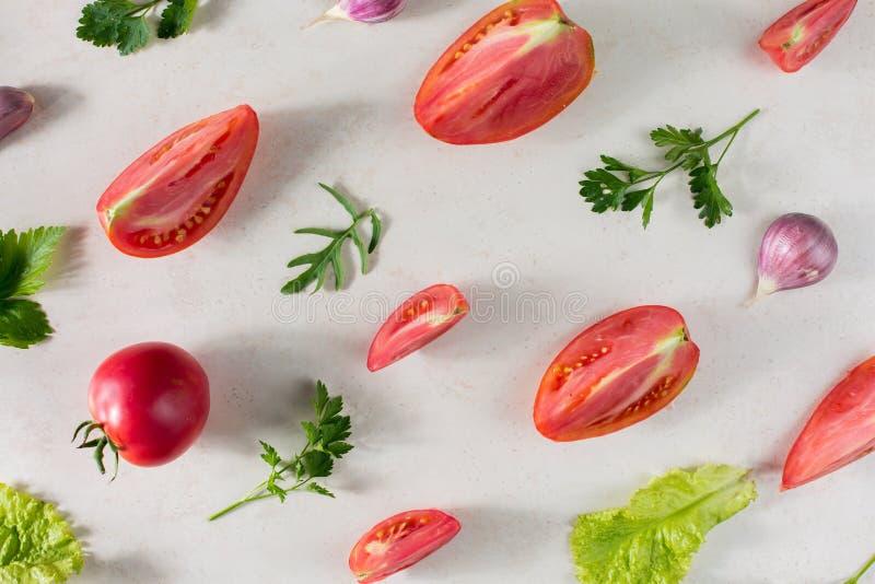 Fresh vegetable pattern royalty free stock photo