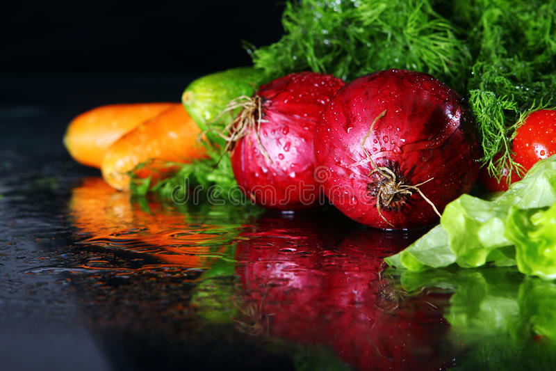 Download Fresh vegetables stock image. Image of aromatic, health - 17835451