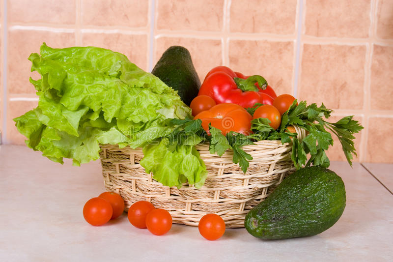 Download Fresh vegetables stock image. Image of green, refreshment - 23875625