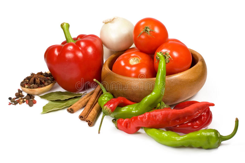 Download Fresh vegetables stock image. Image of onion, tomatoes - 26324353