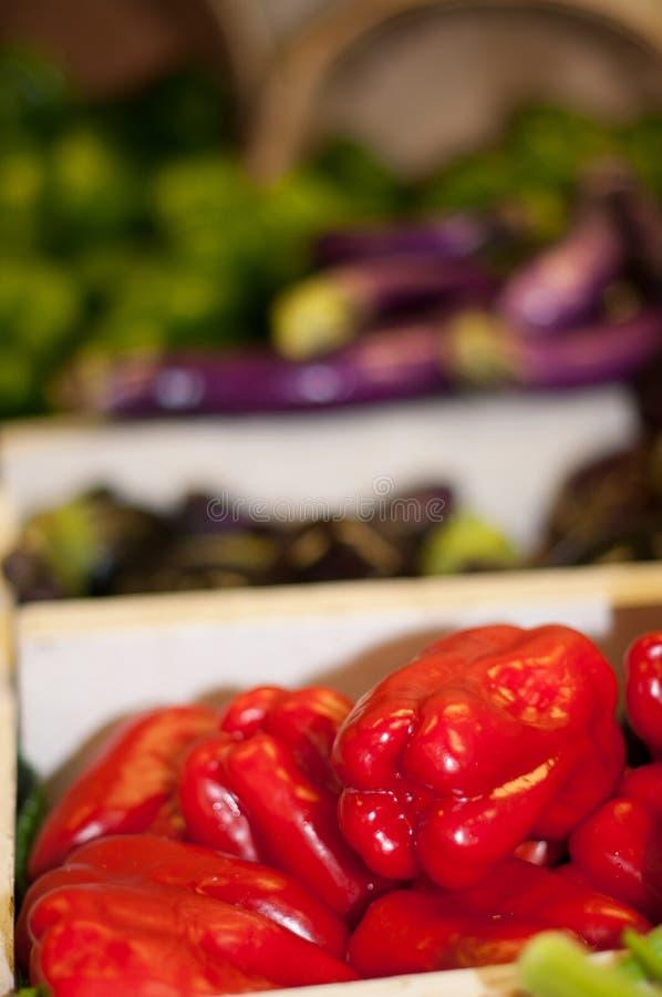 Fresh Vegetables Farmers Market in Memphis royalty free stock photos