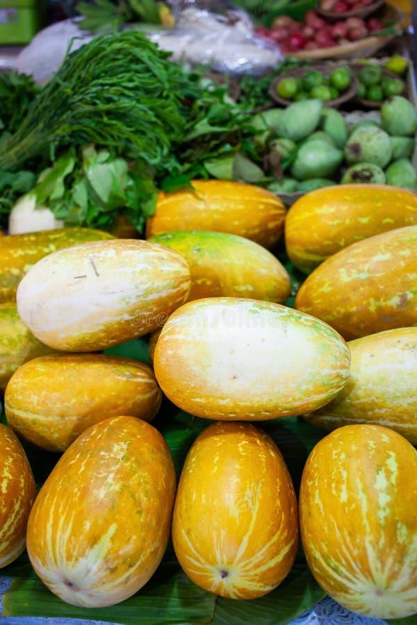 fresh vegetables on the market stock photo