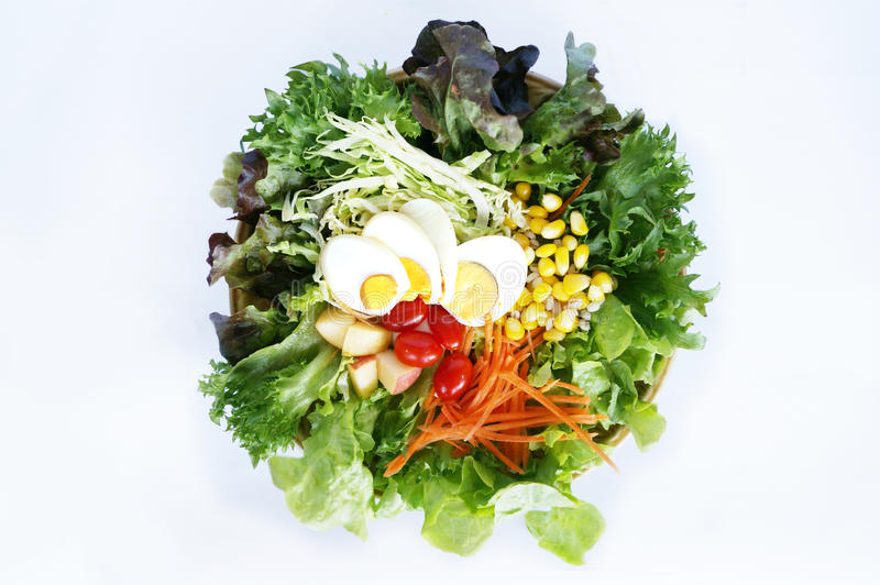 Fresh vegetables salad stock photography
