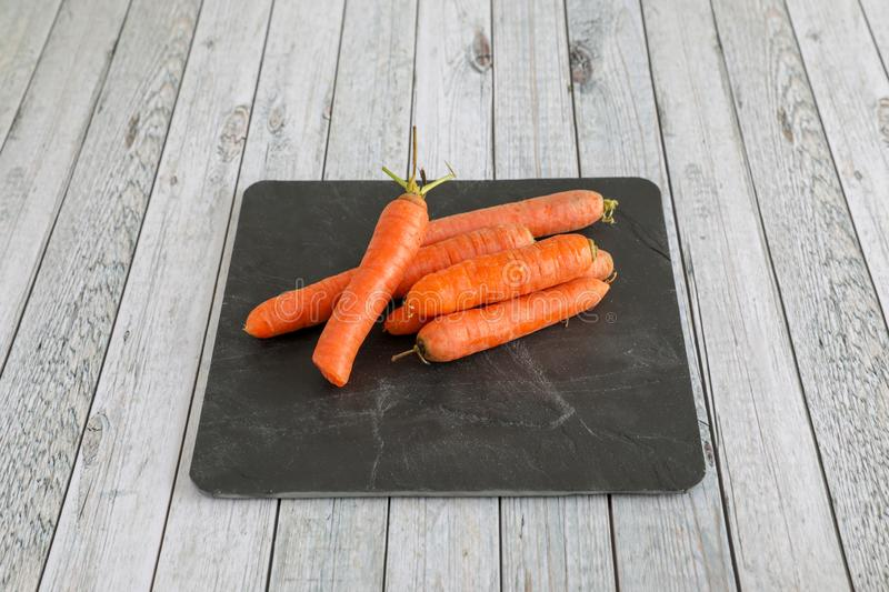 Fresh vegetables on wooden table stock photography