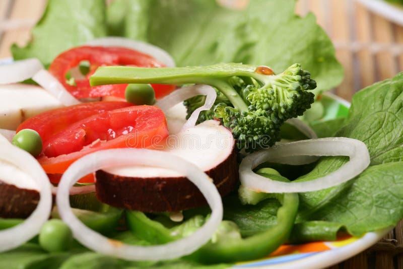 Download Fresh veggie salad stock image. Image of greek, lettuce - 18112199