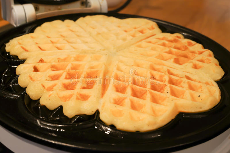 Download Fresh Waffle stock image. Image of dessert, golden, delicious - 22400397