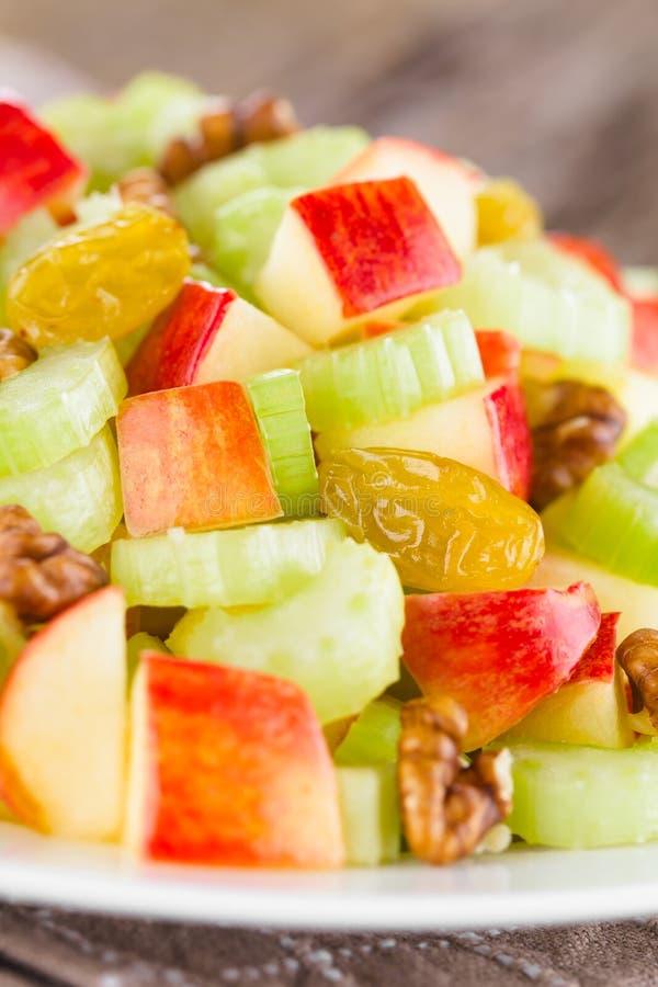 Fresh Vegan Waldorf Salad stock photos