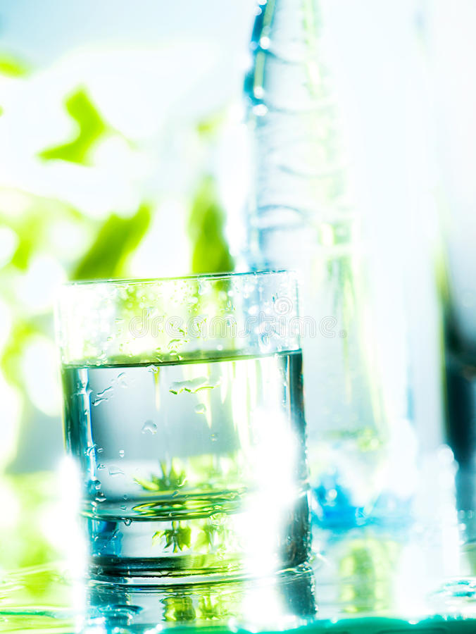 Download Fresh Water in a Glass stock photo. Image of thirsty - 28833146